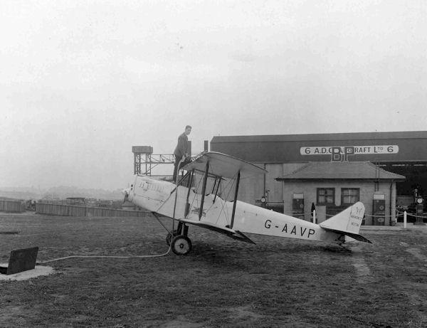 G-AAVP Avro Avian
